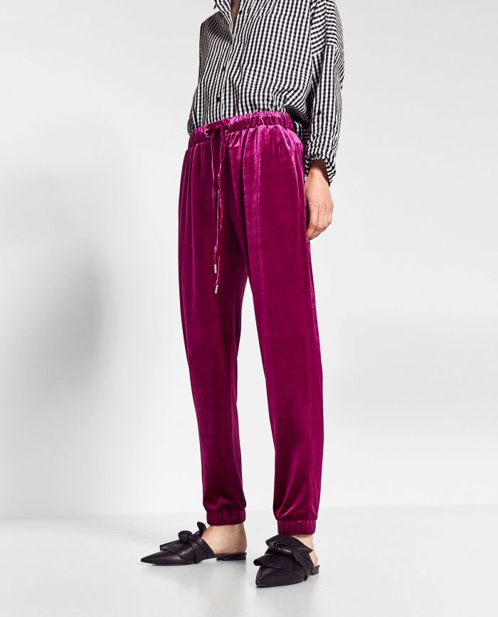 Velvet Jogging Trousers $25.90